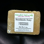 Lemongrass + Cedarwood Soap