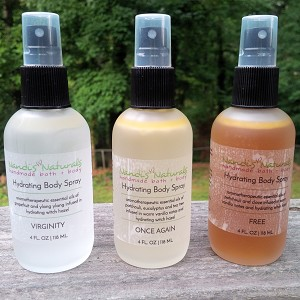 Hydrating Body Sprays